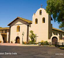 Mission Santa Inés by William Hackett