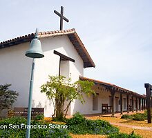 Mission San Francisco Solano by William Hackett
