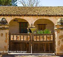 Mission San Miguel Arcángel by William Hackett