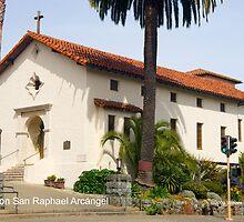 Mission San Raphael Arcángel by William Hackett