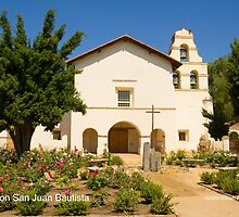 Mission San Juan Bautista by William Hackett