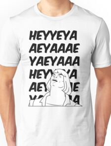 He-Man Sings! (white) Unisex T-Shirt