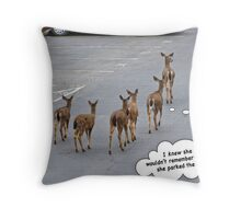 Parking Lot Woes Throw Pillow