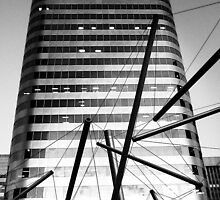 Steely Tubes and Skyscraper by ShotByAWolf
