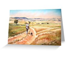 'Old Friends' Greeting Card