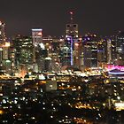 Brisbane Night Shot by scruffycat