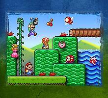 Super Mario 2 by likelikes