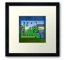 Super Mario 2 Framed Print