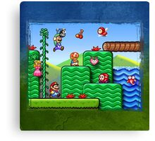 Super Mario 2 Canvas Print