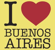I ♥ BUENOS AIRES Kids Clothes