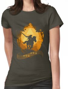 Epona's Song Womens Fitted T-Shirt