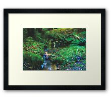 Dreamy Forest, in Coldharbour, Surrey Framed Print