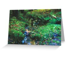 Dreamy Forest, in Coldharbour, Surrey Greeting Card
