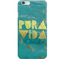 PURA VIDA 1 iPhone Case/Skin