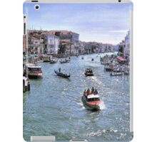 Rush Hour In Venice! iPad Case/Skin
