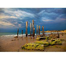 Port Willunga Ruins Photographic Print