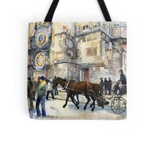 Prague Old Town Square Astronomical Clock or Prague Orloj Tote Bag