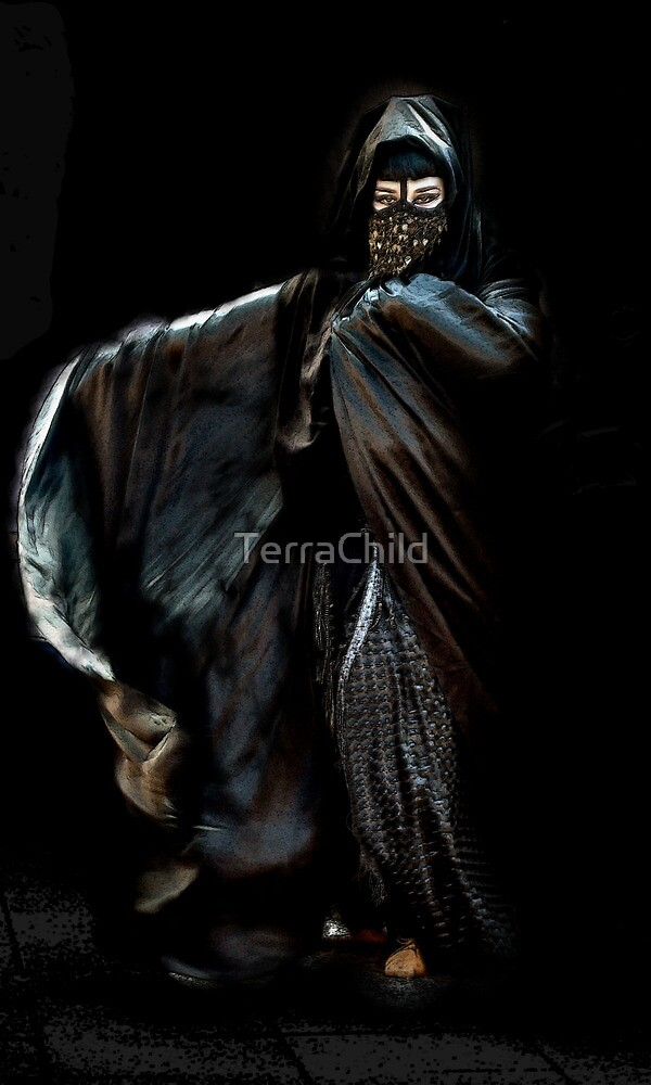 She came out of the dark by TerraChild