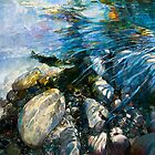 Dappled Trout in Rock Hollow - Fly Fishing Series 2 by Pieter  Zaadstra