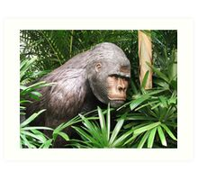 Jungle Gorilla Art Print