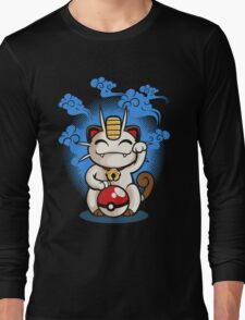 Lucky Meowth Long Sleeve T-Shirt