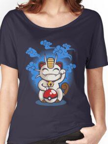 Lucky Meowth Women's Relaxed Fit T-Shirt