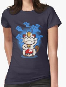 Lucky Meowth Womens Fitted T-Shirt