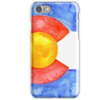 Colorado Flag iPhone Case/Skin
