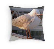 now I was saying... Throw Pillow