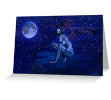 Ravens Twighlight Greeting Card