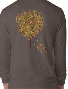 Falling Leaves T-Shirt Long Sleeve T-Shirt