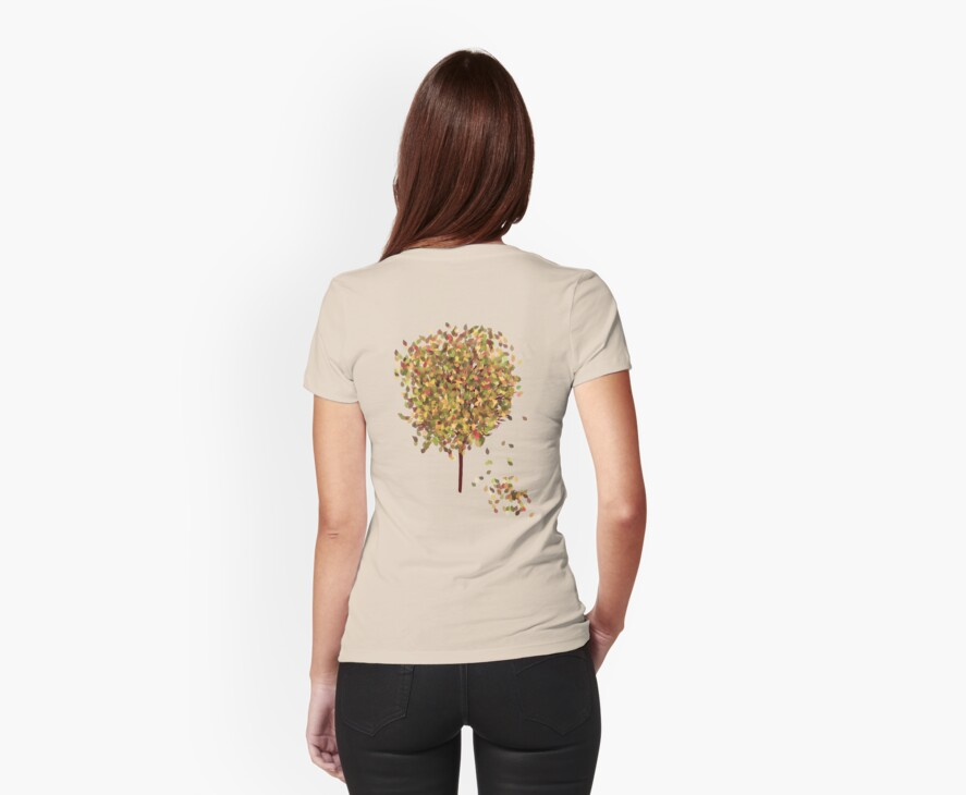 Falling Leaves T-Shirt by simpsonvisuals