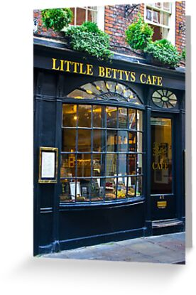 Little Betty's Cafe by Trevor Kersley