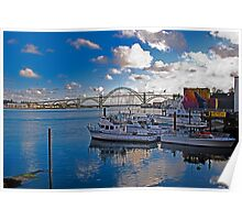 Yaquina Bay, Newport, Oregon Poster