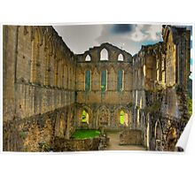 The Refectory - Rievaulx Abbey Poster