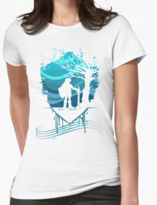 Serenade of Water Womens Fitted T-Shirt