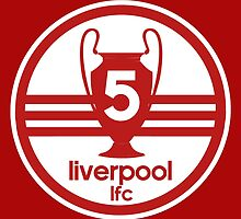 Liverpool 5 Times by JuzaShannonNew