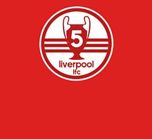 Liverpool 5 Times Unisex T-Shirt