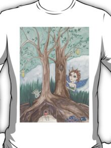 Faerie and troll fantasy art T-Shirt