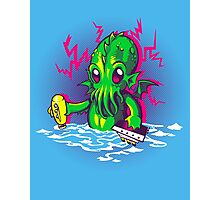 Little Cthulhu Photographic Print