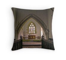 church of St. Thomas Redwick Throw Pillow