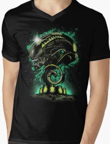 Alien Universe Mens V-Neck T-Shirt