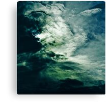 Wild Clouds Canvas Print