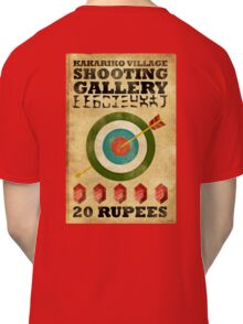 Legend of Zelda Shooting Gallery Poster Classic T-Shirt