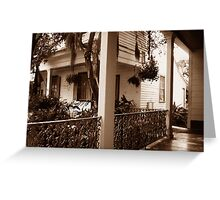 The Whistle Walk Myrtles Plantation Greeting Card