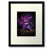 Gengar Shadow Ball Framed Print