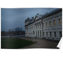 Nightsky in Greenwich Poster