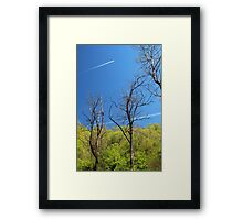 Air Pollution and Climate Change Framed Print