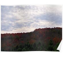 Late Autumn Skys Poster