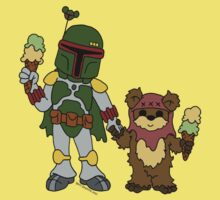 Boba and Wicket - BFFs One Piece - Short Sleeve
